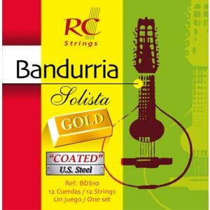 JUEGO CUERDAS BANDURRIA ROYAL CLASSICS - SOLISTA GOLD