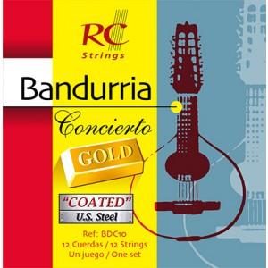 JUEGO CUERDAS BANDURRIA ROYAL CLASSICS - CONCIERTO GOLD