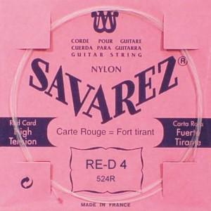 4ª CUERDA SAVAREZ 524-R Carta Roja (SOL)