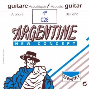 CUERDAS SAVAREZ ARGENTINE 028 BOLA (2 UDS)