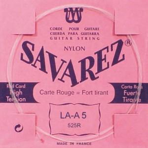 5ª CUERDA SAVAREZ 525-R Carta Roja (LA)