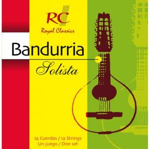 JUEGO CUERDAS BANDURRIA ROYAL CLASSICS - SOLISTA