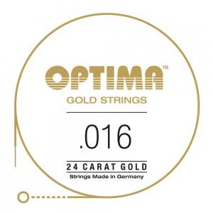 CUERDAS OPTIMA GOLD 016 - Segunda (2 Uds)