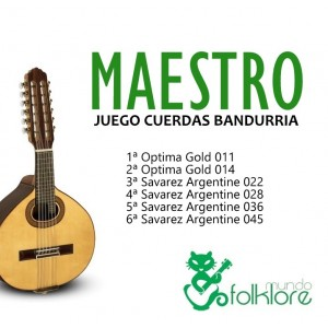 JUEGO BANDURRIA MAESTRO