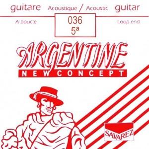 CUERDAS SAVAREZ ARGENTINE 036 LAZO (2 UDS)