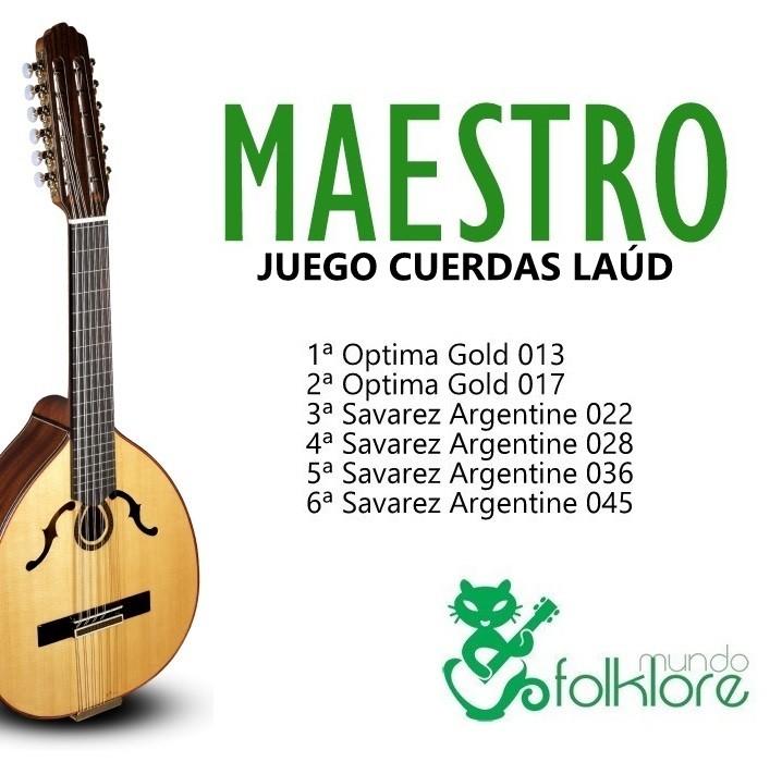 JUEGO LAUD MAESTRO