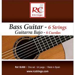 JUEGO GUITARRA BAJO 6 cuerdas