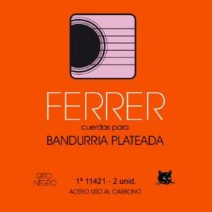 JUEGO CUERDAS BANDURRIA GATO NEGRO ACERO - FERRER