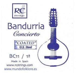 CUERDAS ROYAL CLASSICS - CONCIERTO BC11 Primera Bandurria (2 Uds)