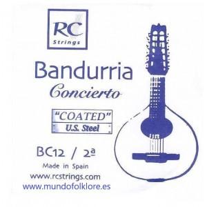 CUERDAS ROYAL CLASSICS - CONCIERTO BC12 Segunda Bandurria (2 Uds)