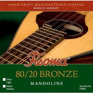JUEGO MANDOLINA FISOMA 80/20 BRONZE