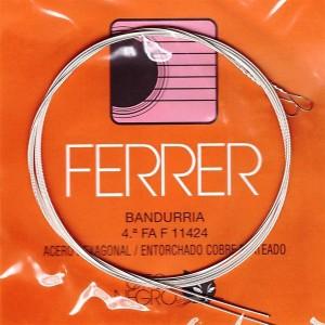 CUERDAS LAUD GATO NEGRO - FERRER Cuarta (2 uds)