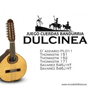 JUEGO BANDURRIA DULCINEA