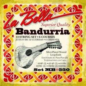 JUEGO CUERDAS BANDURRIA LA BELLA