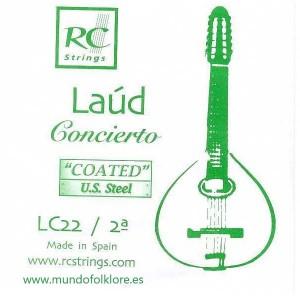 CUERDA LAUD ROYAL CLASSICS - CONCIERTO LC22 Segunda (2 uds)