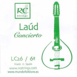 CUERDAS LAUD ROYAL CLASSICS - CONCIERTO LC26 Sexta (2 uds)