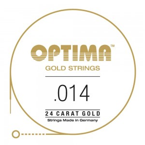 CUERDAS OPTIMA GOLD 014 - Primera (2 Uds)