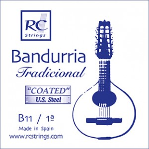 CUERDAS ROYAL CLASSICS B11 Primera Bandurria (2 Uds)