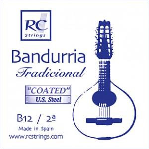 CUERDAS ROYAL CLASSICS B12 Segunda Bandurria (2 Uds)