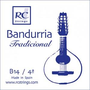 CUERDAS ROYAL CLASSICS B14 Cuarta Bandurria (2 Uds)