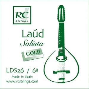 CUERDA RC SOLISTA GOLD LDS26 Sexta (2 uds)