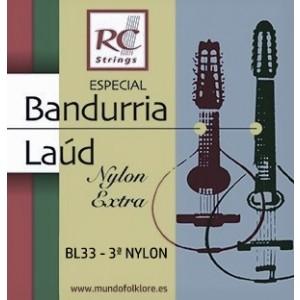 CUERDAS ROYAL CLASSICS NYLON BL33 Tercera (2 Uds)