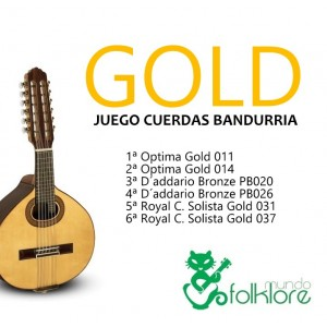 JUEGO BANDURRIA GOLD