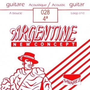 CUERDAS SAVAREZ ARGENTINE 028 LAZO (2 UDS)