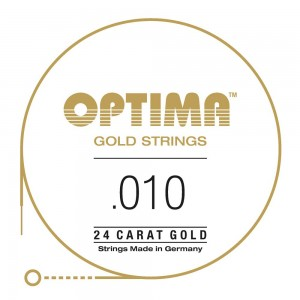 CUERDAS OPTIMA GOLD 010 - Primera (2 Uds)